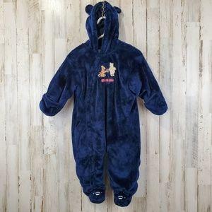 Classic Pooh Disney Baby Girls Boys Bunting 9 Mths